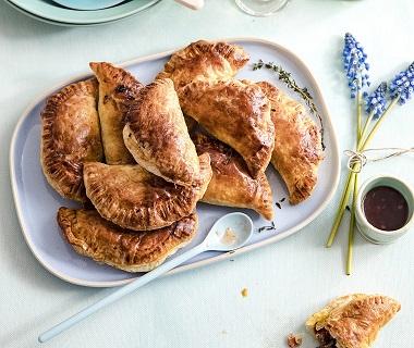 Empanadas met kastanjechampignons