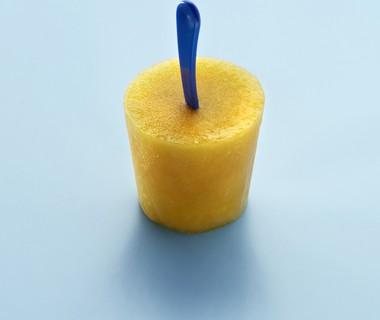 Ananas-perzik ijsje