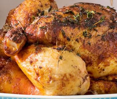 Hele kip rozemarijn- lemon uit de oven