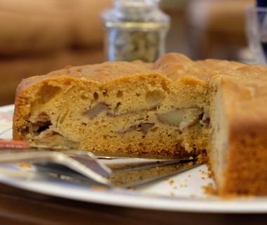 Suikervrije appelcake van Nahid Samie