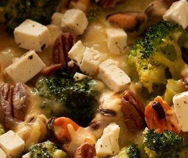 De broccolitaart van Anouk Boef