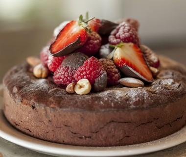 Machtige chocoladetaart van Eline en Anne