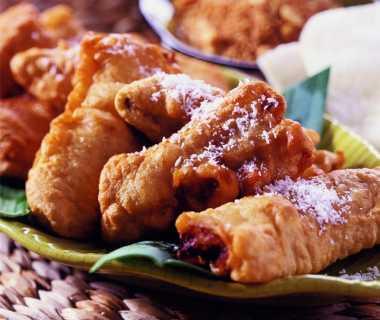 Pisang goreng - gebakken banaan