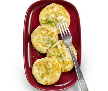 Aardappelkoekjes met feta