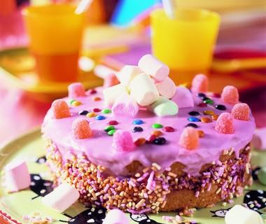 Roze koektaart