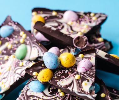 Paas chocolade bark van Annie Pannie