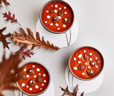 Geroosterde-tomatensoep