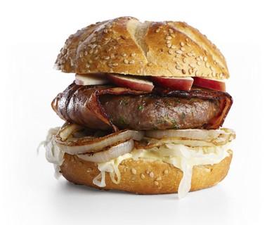Zuurkoolburger