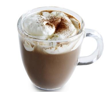 Koffie met chocolade