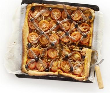 Provençaalse plaatpizza