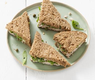 Sandwich van tonijn