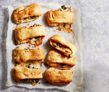 Stromboli-broodjes