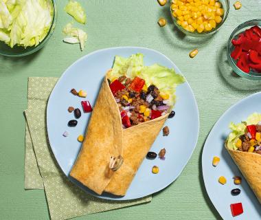 Mexicaanse wortel wraps