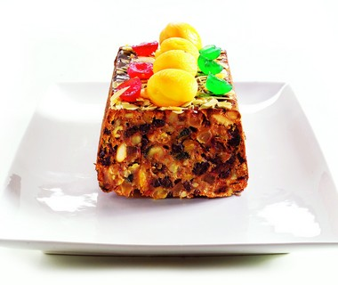 Engelse kerstcake