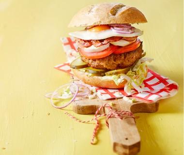 'Lifesaving' hamburger