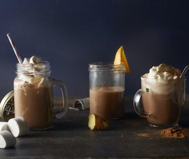 Chocolade-kokosmelk