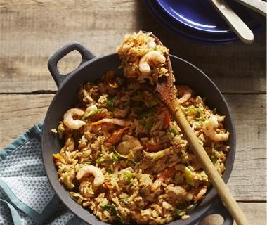 Indische nasi goreng