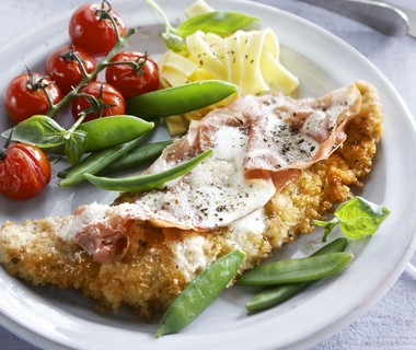 Florentijnse kalfsschnitzel