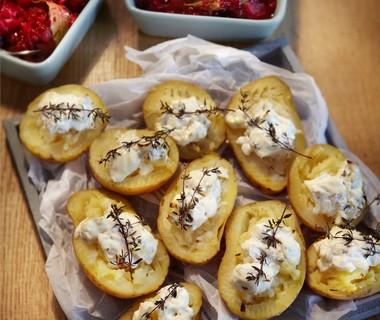 Gegratineerde aardappels