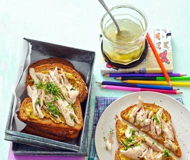 Soepvlees-sandwich van Anita Hubert