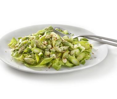 Groene aspergesalade met Japanse dressing
