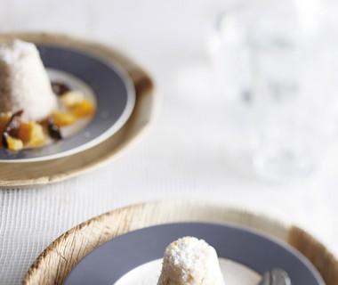 Rijsttimbaaltjes met kokos en zuidvruchten