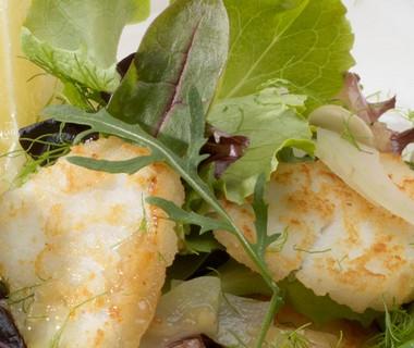 Salade van kabeljauw, venkel en witbier van Frank van Biemen