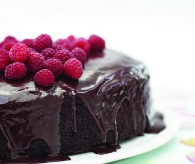 Makkelijke chocoladetaart