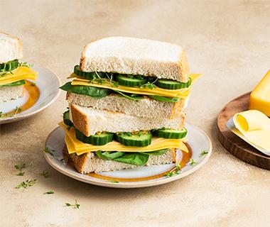 Sandwich 2.0 met Top van Coop Belegen kaas