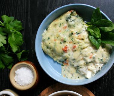 Iglo Fish Cuisine Florentine met ovengebakken aardappeltjes
