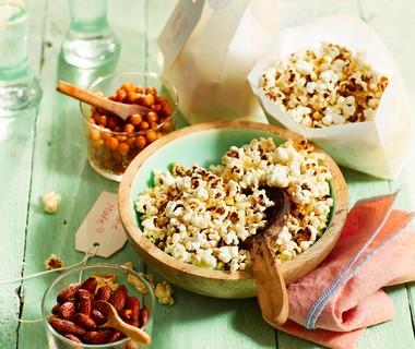 Parmezaan popcorn