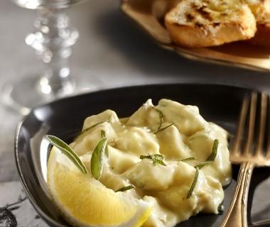 Kalkoenragout met citroen en salie