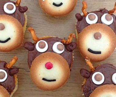 Rendiercupcakes van Arianne Visser