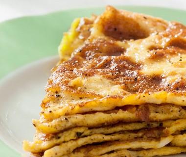 Smeuïge omelet met laagjes van Freya Elders