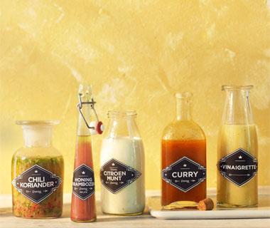 Hazelnoot-sinaasappeldressing