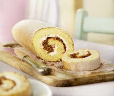 Romige biscuitrol