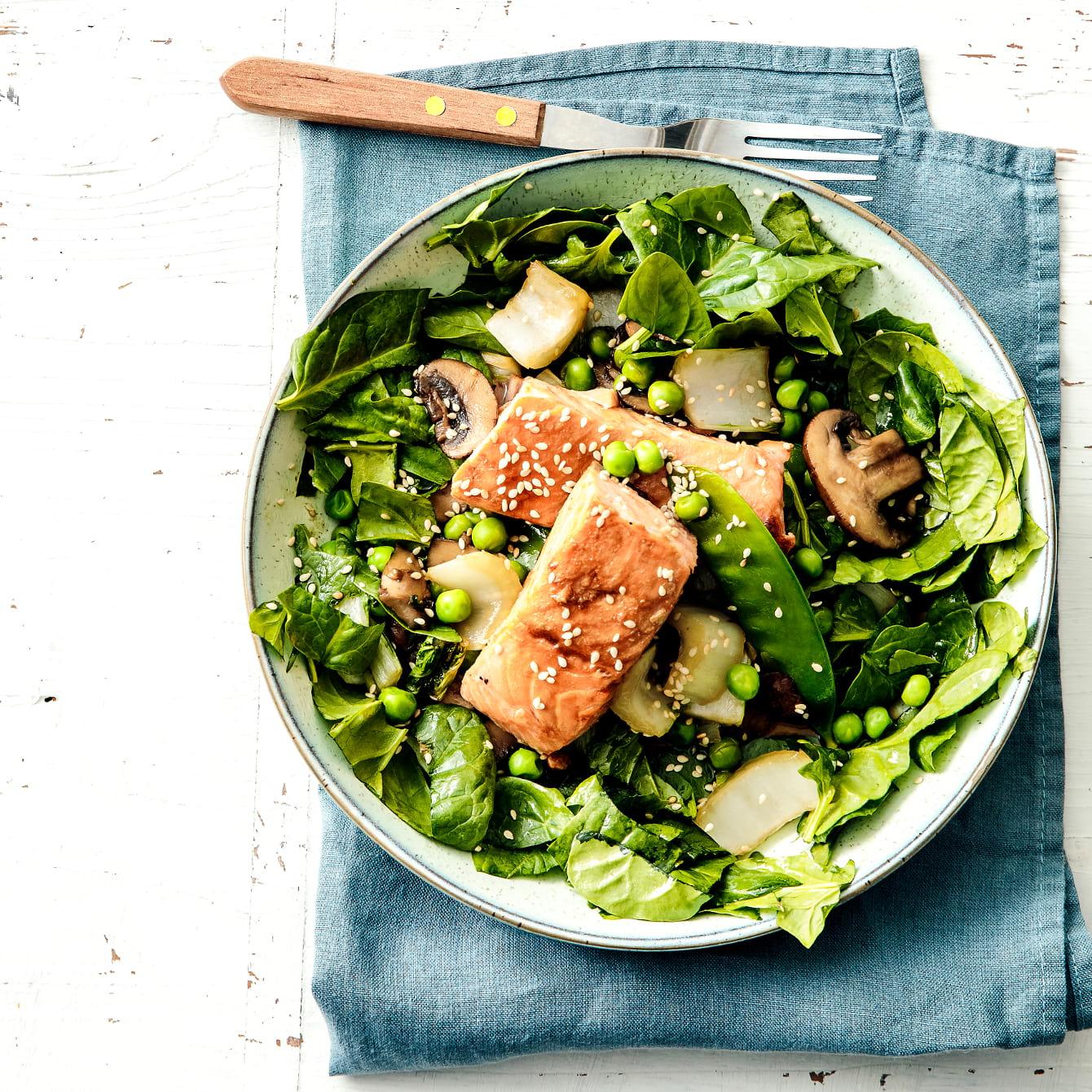 Oosterse lentesalade