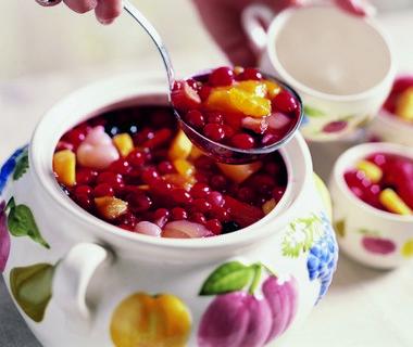 Rumtopf - op rum ingemaakte vruchten