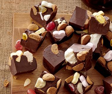 Chocoladeletter-fudge