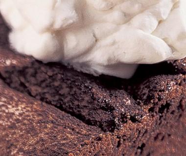 Chocoladetaart met bitterkoekjes