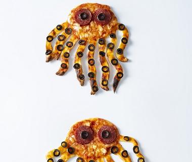 Carnavalskrakers octopus pizza