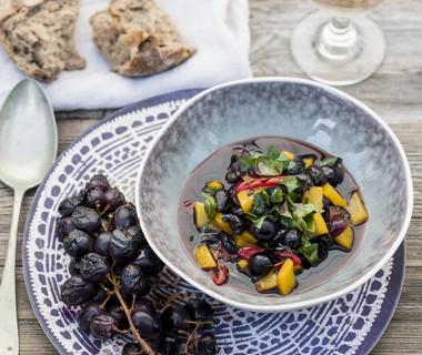 Salsa van gegrilde druiven van René Pluijm