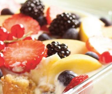 Tiramisu met fruit