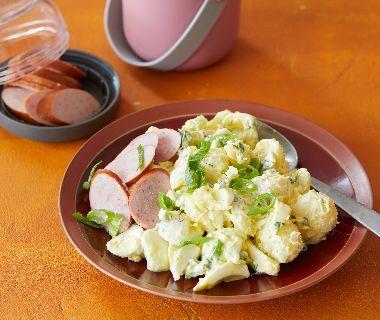 Aardappelsalade met ei en dille