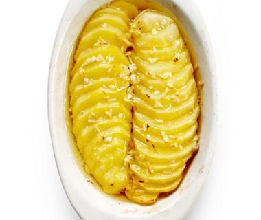 Gekonfijte aardappel uit de oven
