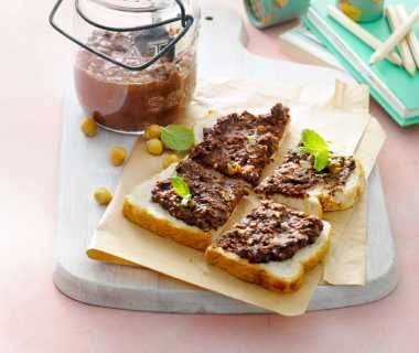 Zelfgemaakte chocoladepasta van Inge van der Wurff