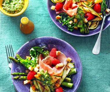 Groene salade met een Italiaans tintje van Evelien Groenendijk: