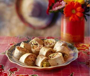 Wrap met kip en korianderroom