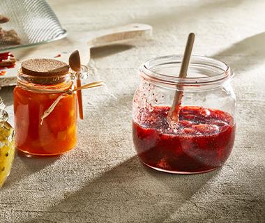Aardbeienjam met gember en maanzaad