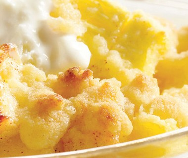 Ananas-appel crumble